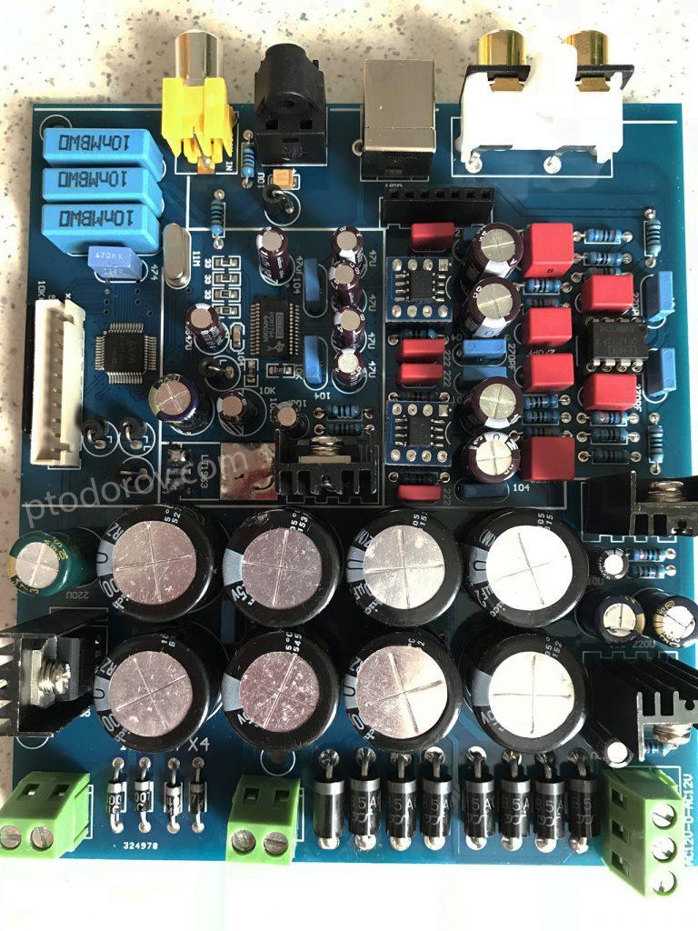 PCM1794 AK4118 OPA1612 OPA2132 DAC