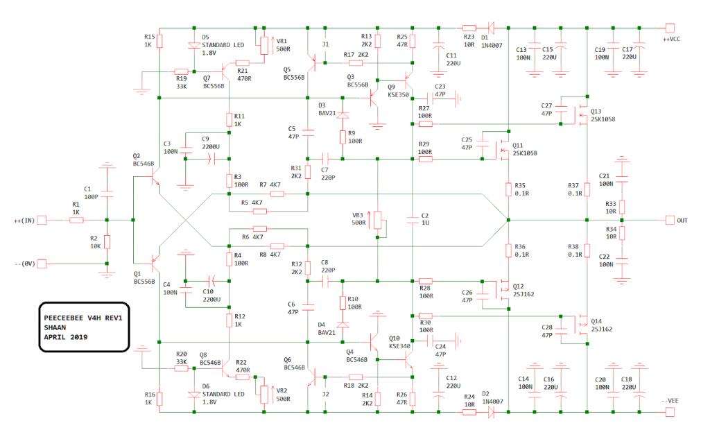 PeeCeeBee V4H schematics