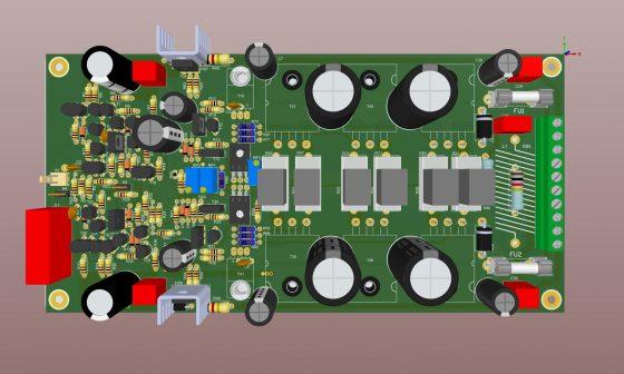 Apex A40 PCB 3D